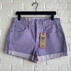 NWT Levi's 501 Jean Shorts Size 30